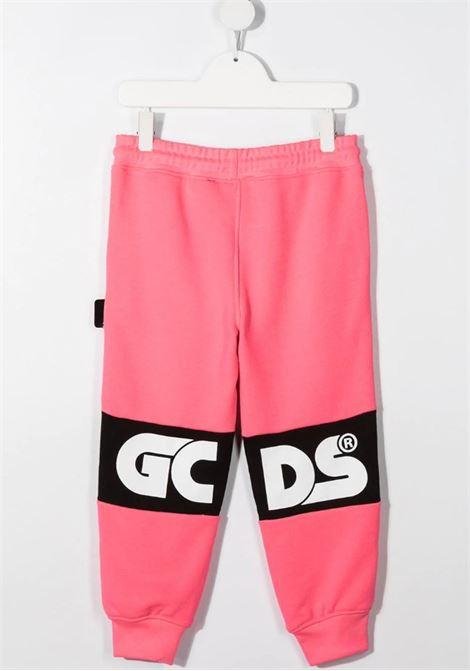 GCDS | trousers | 027609FLFUXIA FLUO NERO