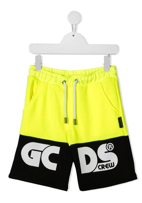 GCDS | Bermuda pants  | 027610FLGIALLO FLUO