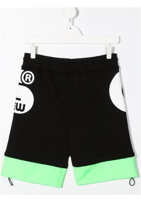 GCDS | Bermuda pants  | 027615NERO VERDE FLUO