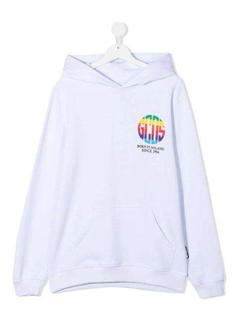 GCDS | sweatshirt | 027647BIANCO