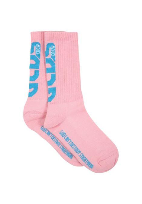 GCDS | knee sock | 027974ROSA