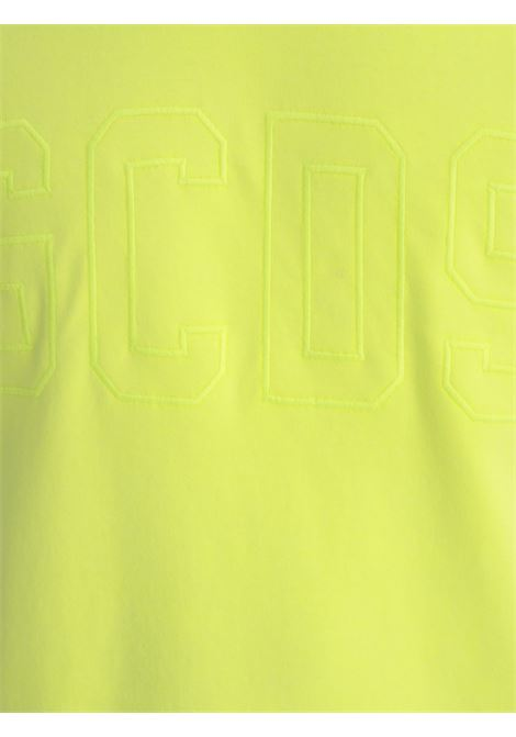 T-SHIRT GCDS GCDS | T-shirt | CC94M021007GIALLO FLUO