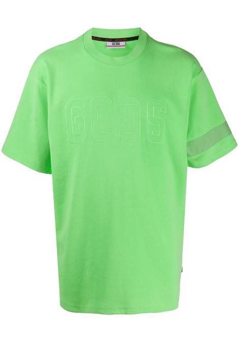 GCDS | t-shirt short sleeve | CC94M021007VERDE FLUO