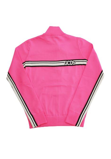 GCDS | sweatshirt | CC94M021100FUXIA FLUO