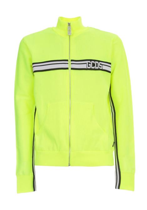 GCDS | sweatshirt | CC94M021100GIALLO FLUO