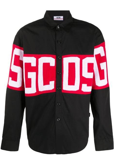 GCDS | shirt | CC94M021102NERO