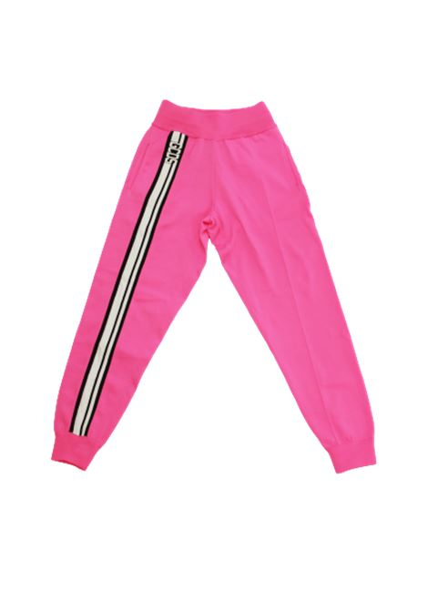 GCDS | trousers | CC94M031100FUXIA FLUO