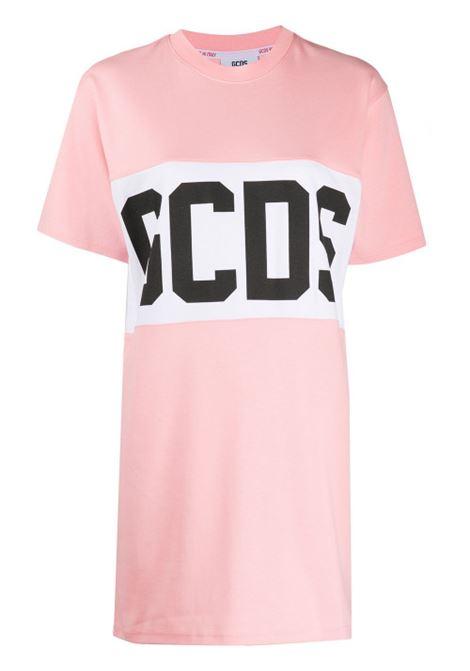 GCDS | Dress | CC94W021011ROSA BIANCO