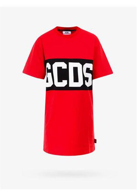 GCDS | Dress | CC94W021011ROSSO NERO