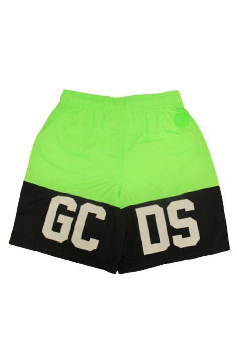 GCDS | swimsuit | GCD54VERDE FLUO