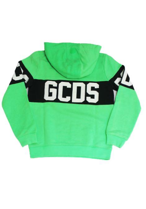 GCDS | sweatshirt | GCD69VERDE FLUO