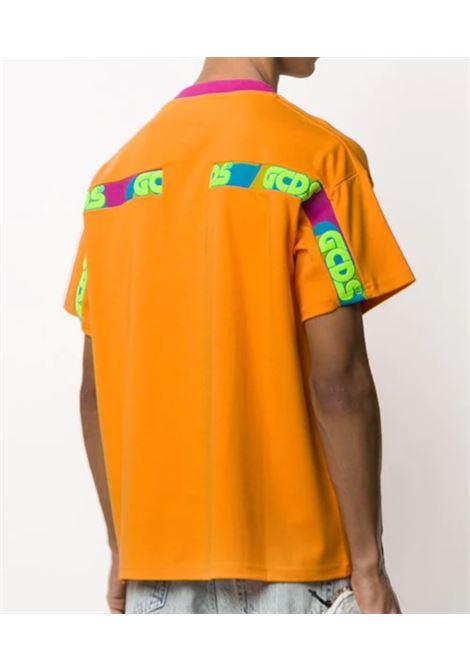 T-SHIRT GCDS GCDS | T-shirt | SS20M020059ARANCIO