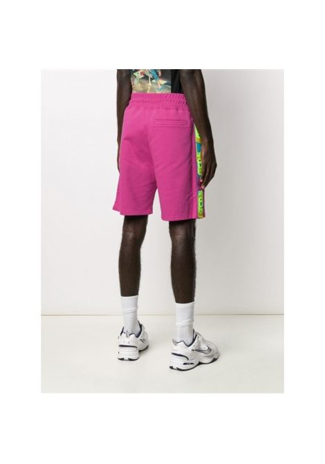 GCDS | Bermuda pants  | SS20M030033FUXIA FLUO