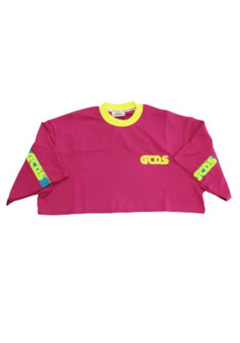 T-SHIRT GCDS GCDS | T-shirt | SS20W020180FUXIA
