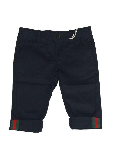 GUCCI | trousers | BA1475408XBB56BLU