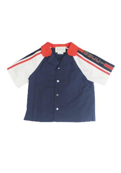 Camicia Gucci GUCCI | Camicia | BA4546862XWAANBLU