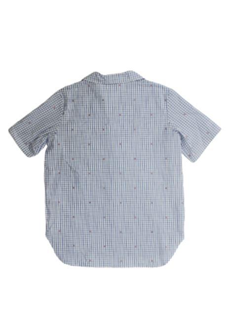 Camicia Gucci GUCCI | Camicia | BA4600374XWAHRQUADRETTI B.CO CLESTE