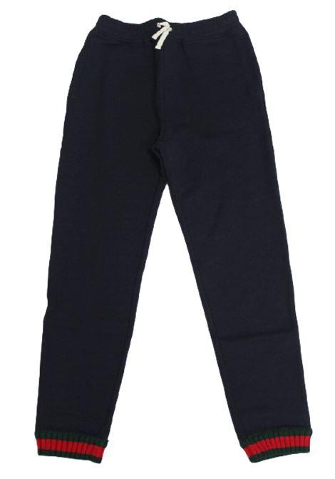 GUCCI | trousers | GUC136BLU