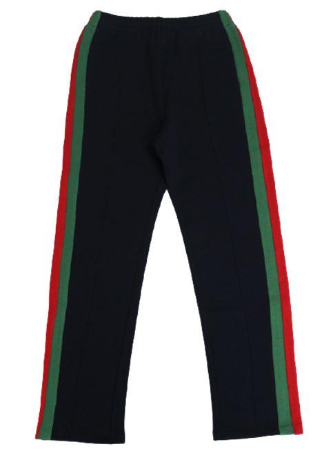 GUCCI | trousers | GUC137BLU