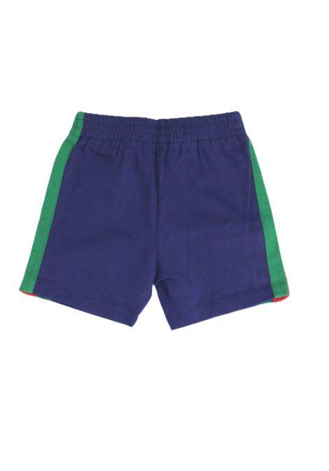 GUCCI | Bermuda pants  | GUC339BLUETTE