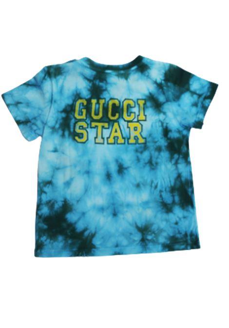 GUCCI | T-shirt | GUC61TURCHESE