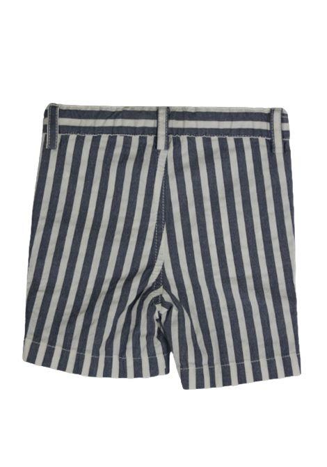 IL GUFO | Bermuda pants  | P16PB006C1043RIGA B.CO AZZURRO