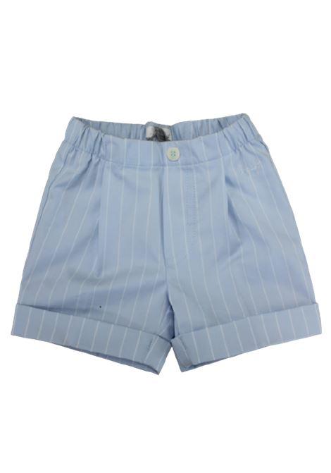 IL GUFO | Bermuda pants  | P18PB019C1055AZZURRO