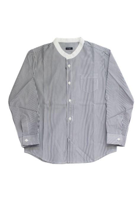 Camicia Il Gufo IL GUFO | Camicia | P19CL016C1052RIGA B.CO BLU