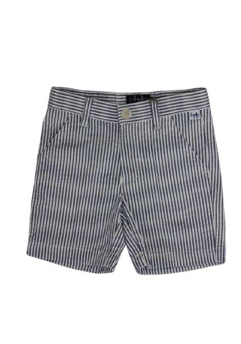 IL GUFO | Bermuda pants  | P20PB069C1057BIANCO AZZURRO
