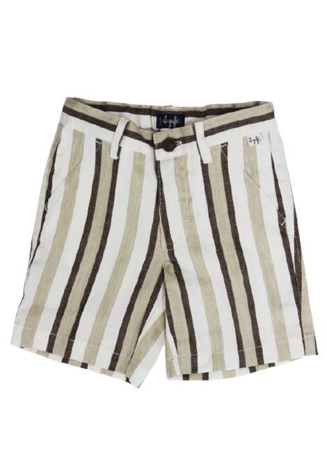 IL GUFO | Bermuda pants  | P20PB069C1065RIGA B.CO MARRONE