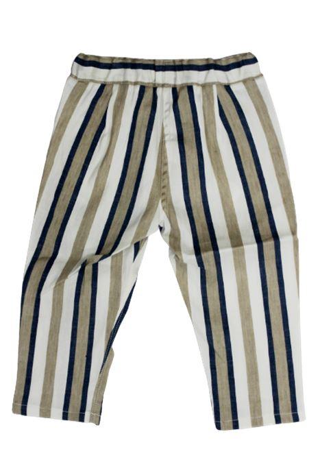 IL GUFO | trousers | P20PL286C1065RIGA PANNA