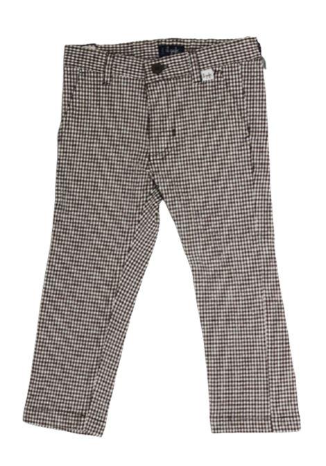 IL GUFO | trousers | P20PL297C3116BIANCO MARRONE