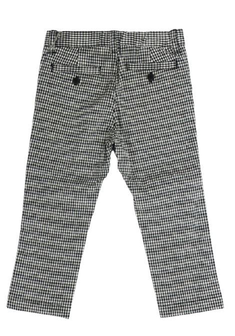 IL GUFO | trousers | P20PL297C3116BIANCO NERO