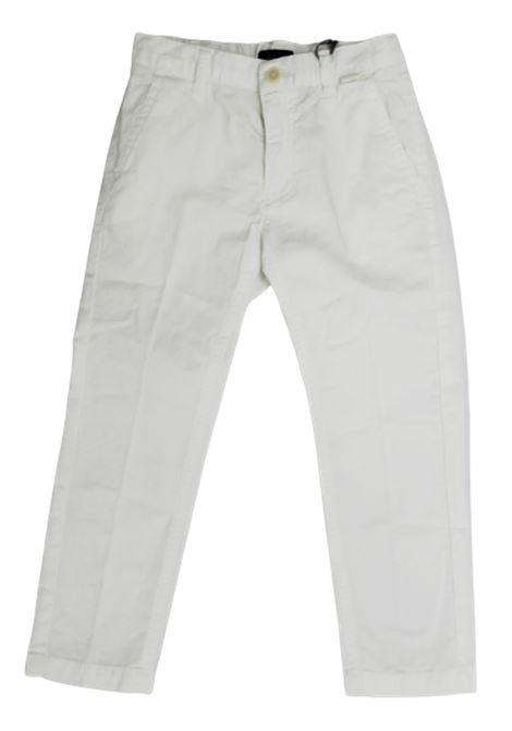IL GUFO | trousers | P20PL297C6002BIANCO