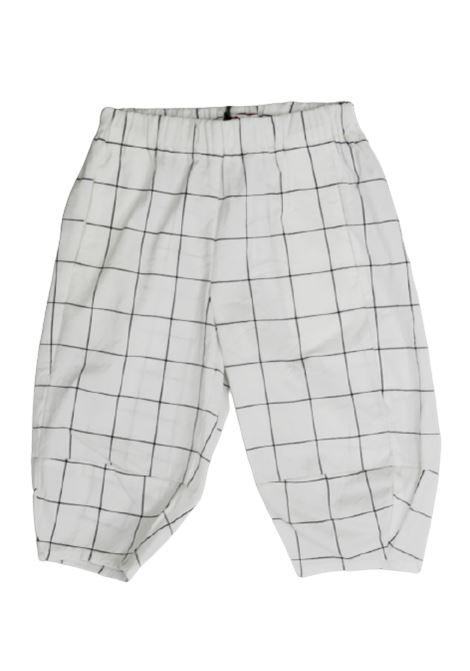 IL GUFO | trousers | P20PL299C3115BIANCO