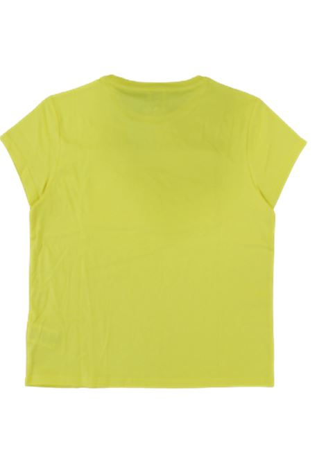 KARL LAGERFELD   T-shirt   KAR57GIALLO