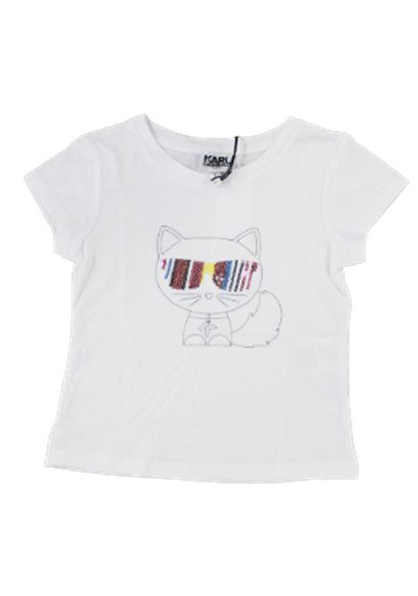 KARL LAGERFELD   T-shirt   Z15223BIANCO
