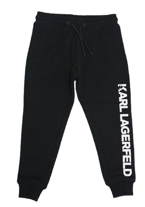 KARL LAGERFELD | trousers | Z24088/09BNERO