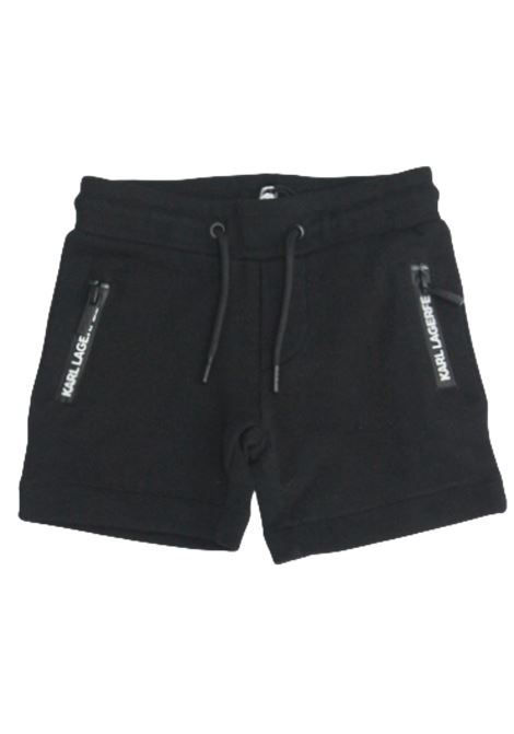KARL LAGERFELD | Bermuda pants  | Z24096/09BNERO