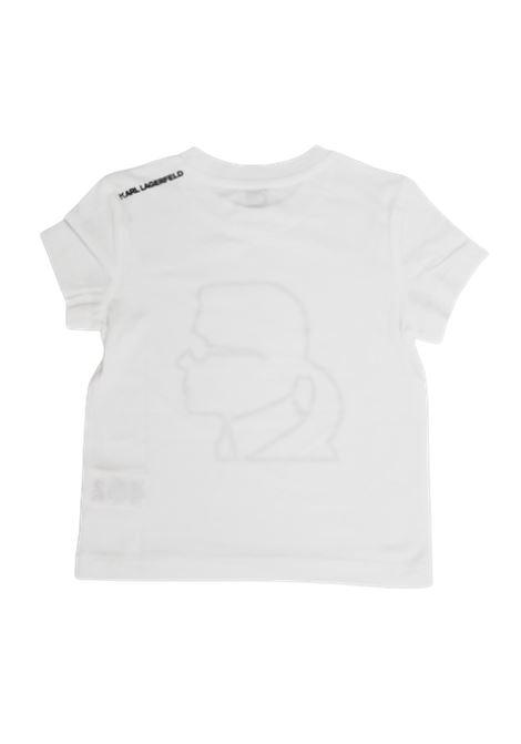 KARL LAGERFELD   T-shirt   Z25218/10BBIANCO