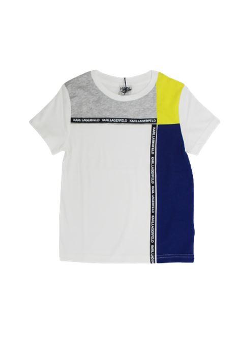KARL LAGERFELD   T-shirt   Z25220/10BBIANCO