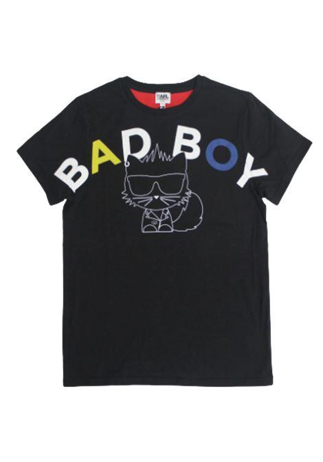KARL LAGERFELD   T-shirt   Z25225/09BNERO