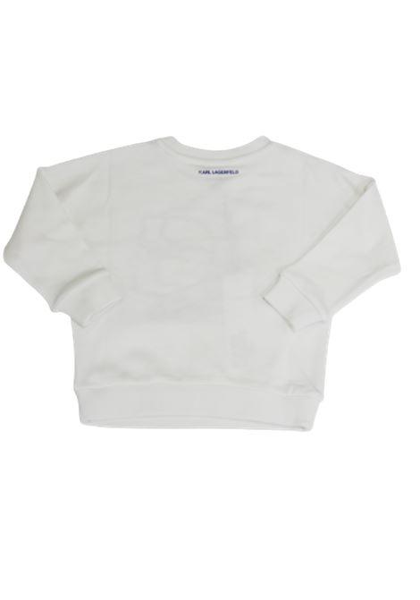 KARL LAGERFELD | sweatshirt | Z25238/10BBIANCO