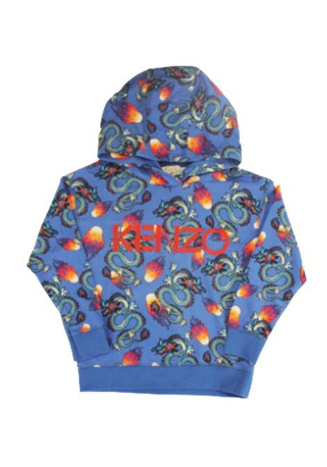 KENZO | sweatshirt | K015568BLUETTE FANTASIA