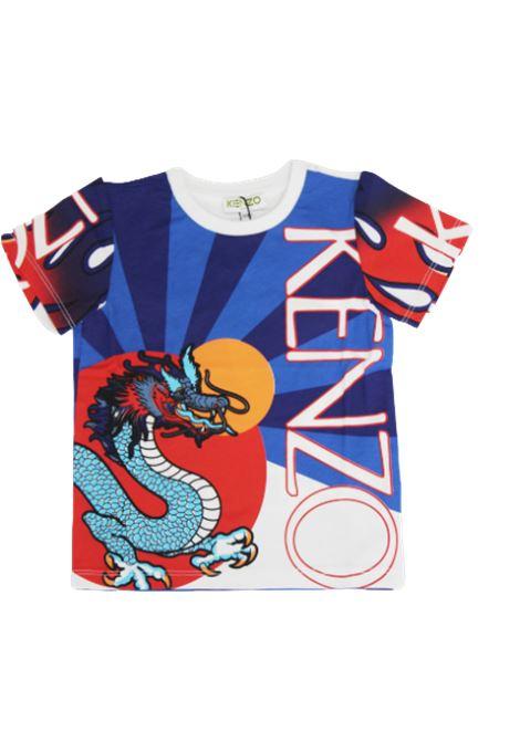 T-shirt KENZO KENZO   T-shirt   KQ10568BLUETTE FANTASIA