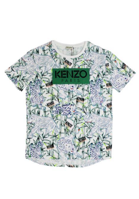 T-shirt Kenzo KENZO   T-shirt   KQ10588BIANCO FANTASIA