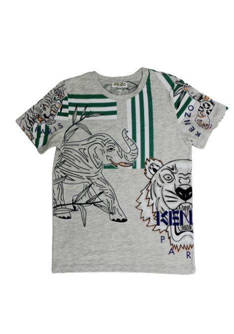 T-shirt KENZO KENZO   T-shirt   KQ10598GRIGIO