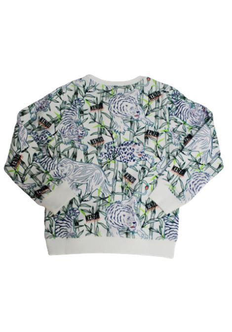 KENZO | sweatshirt | KQ15598BIANCO FANTASIA