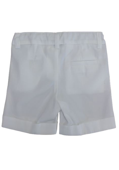LITTLE BEAR | Bermuda pants  | 9230BIANCO