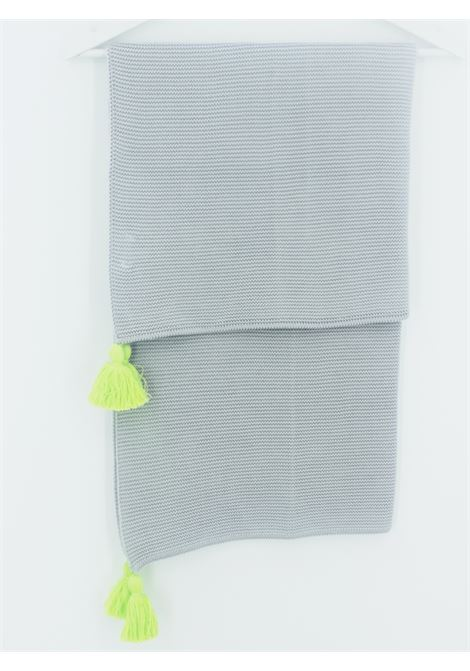 LITTLE BEAR | blanket | COP0110GRIGIA-LIME